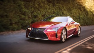 Lexus LC500 at Robb Report Car of the Year