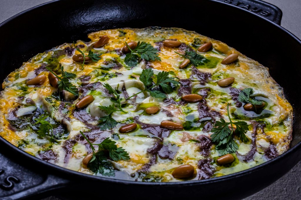omelet anchovy fish sauce