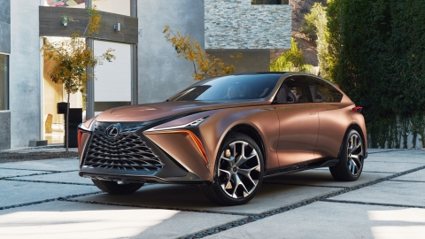 The Lexus LF-1 Concept.