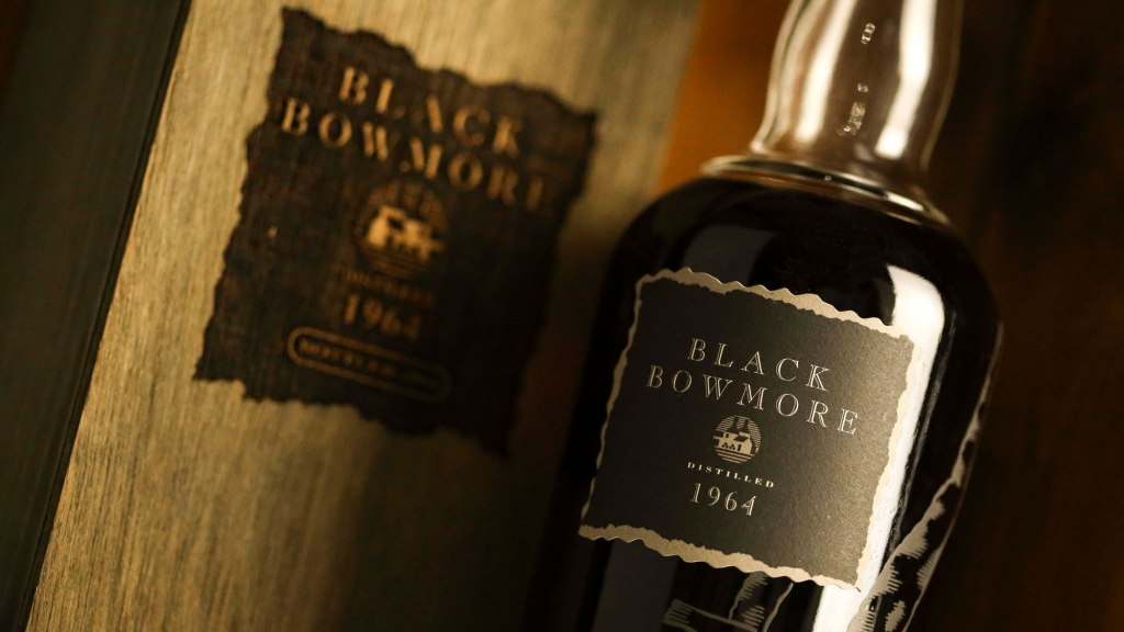 Black Bowmore 1964 Auction Record