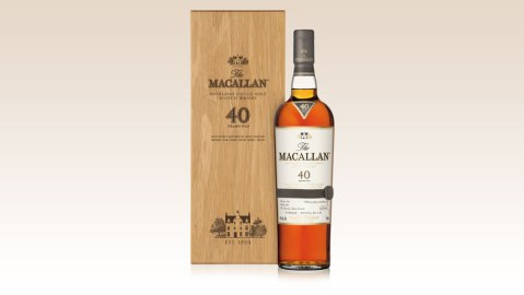 Macallan New Sherry Cask 40 Year Old Scotch Whisky