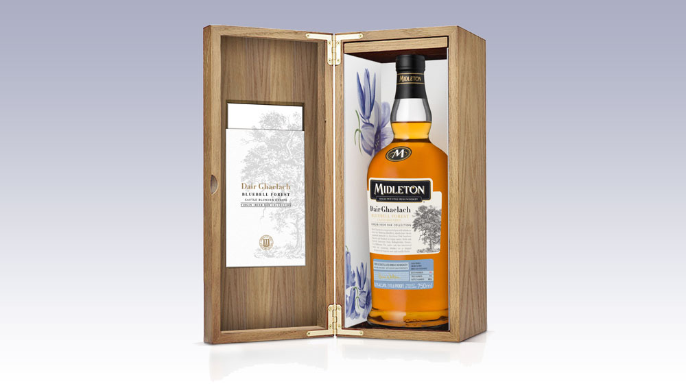 Midleton Dair Ghaelach Bluebell Forest Irish Whiskey