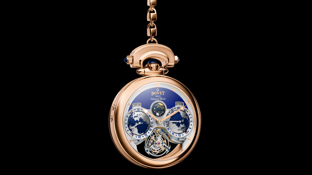 Edouard Bovet Tourbillon Pocket Watch