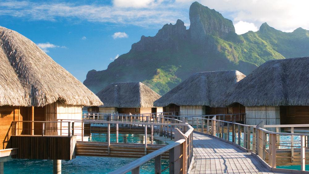 Four Seasons Resort Bora Bora bungalows