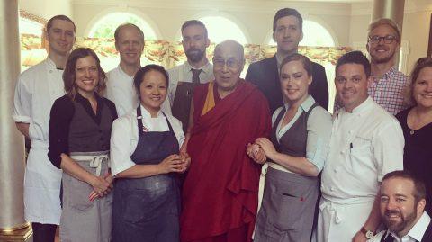 Gavin Kaysen Dalai Lama