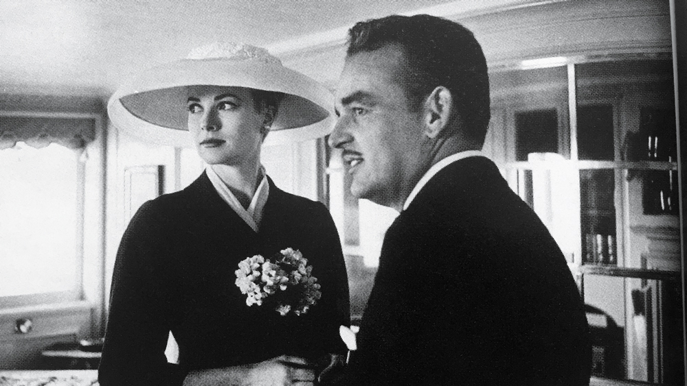 Prince Rainier and Princess Grace of Monaco