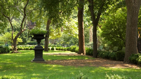 Gramercy Park in New York City