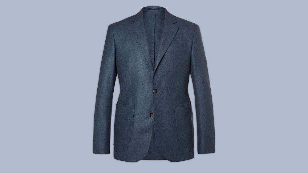 Hardy Amies blue blazer