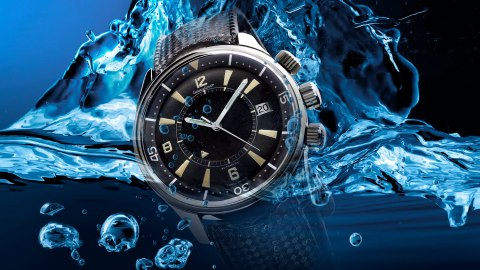Jaeger-LeCoultre Polaris Memovox watch