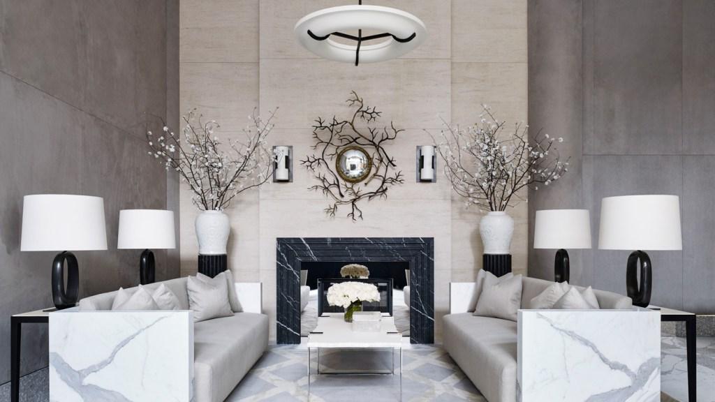 lobby in New York City