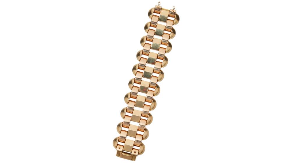 Sotheby's gold bracelet