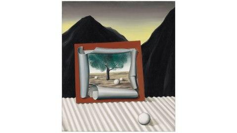 René Magritte Les signes du soir