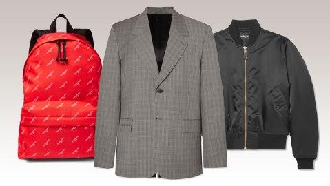 Mr Porter x Balenciaga Capsule Collection