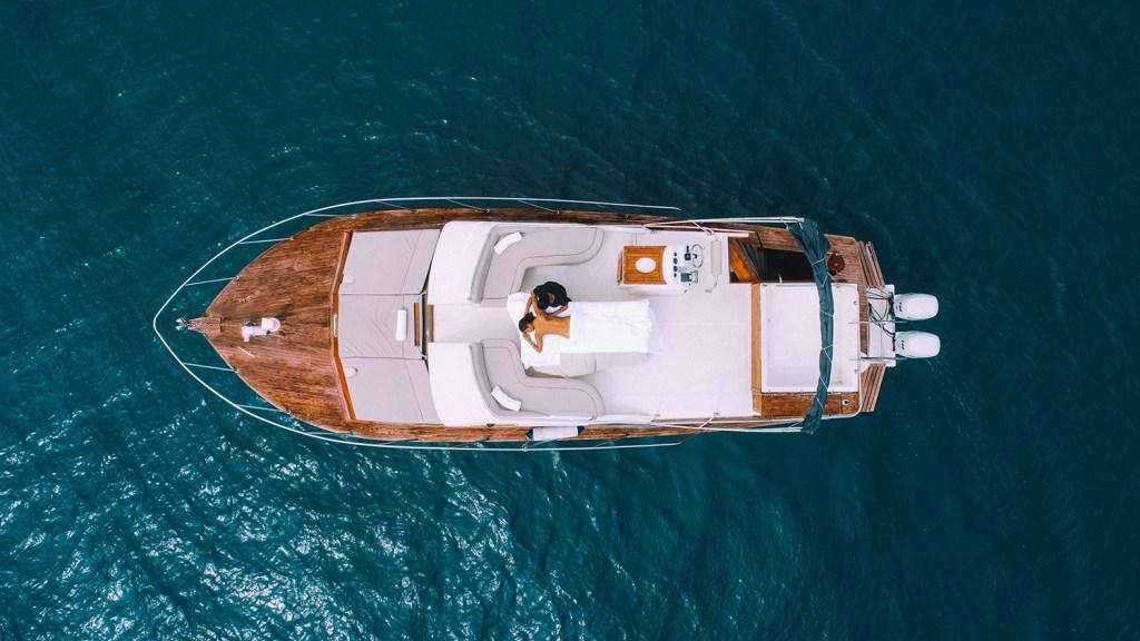 speedboat in Mauritius