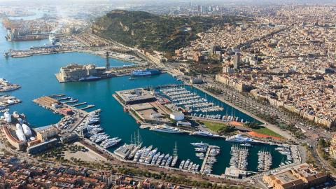 The Superyacht Show OneOcean Port Vell marina Barcelona