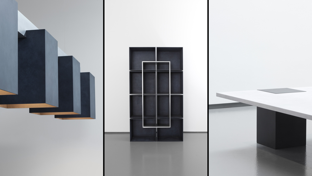 Aluminum fixture, shelf and table