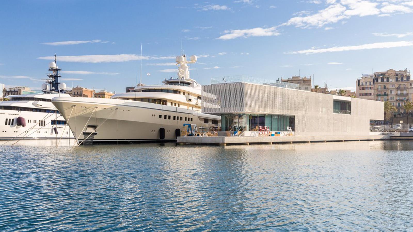 The Superyacht Show OneOcean Port Vell marina Barcelona
