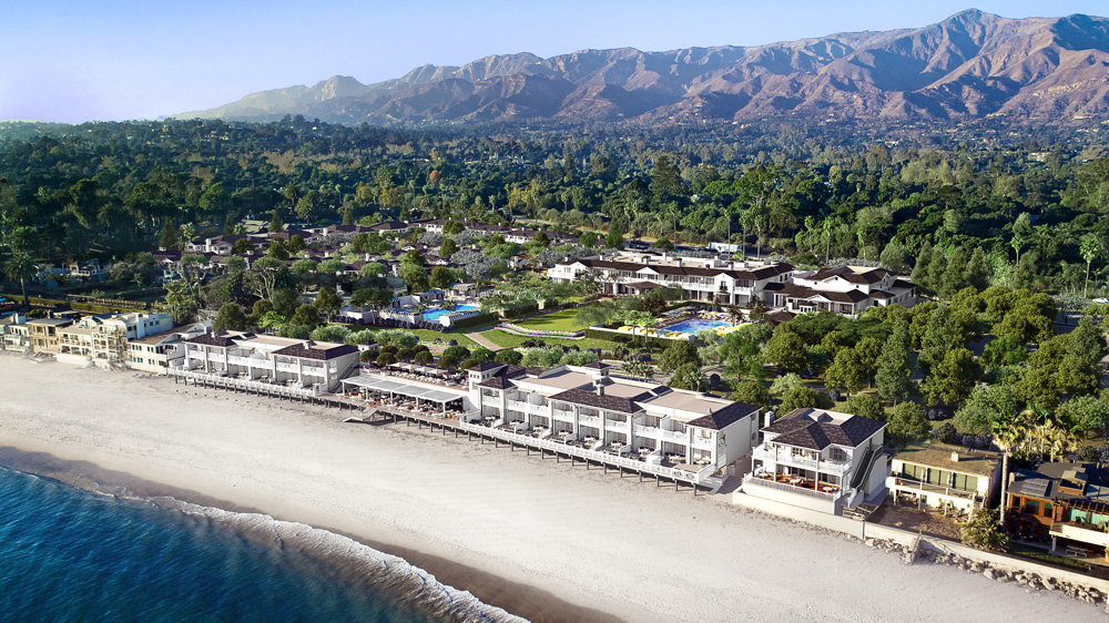 Rosewood Miramar Beach Montecito aerial