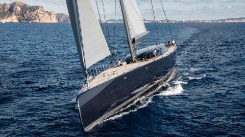 Royal Huisman Ngoni sloop sailing yacht