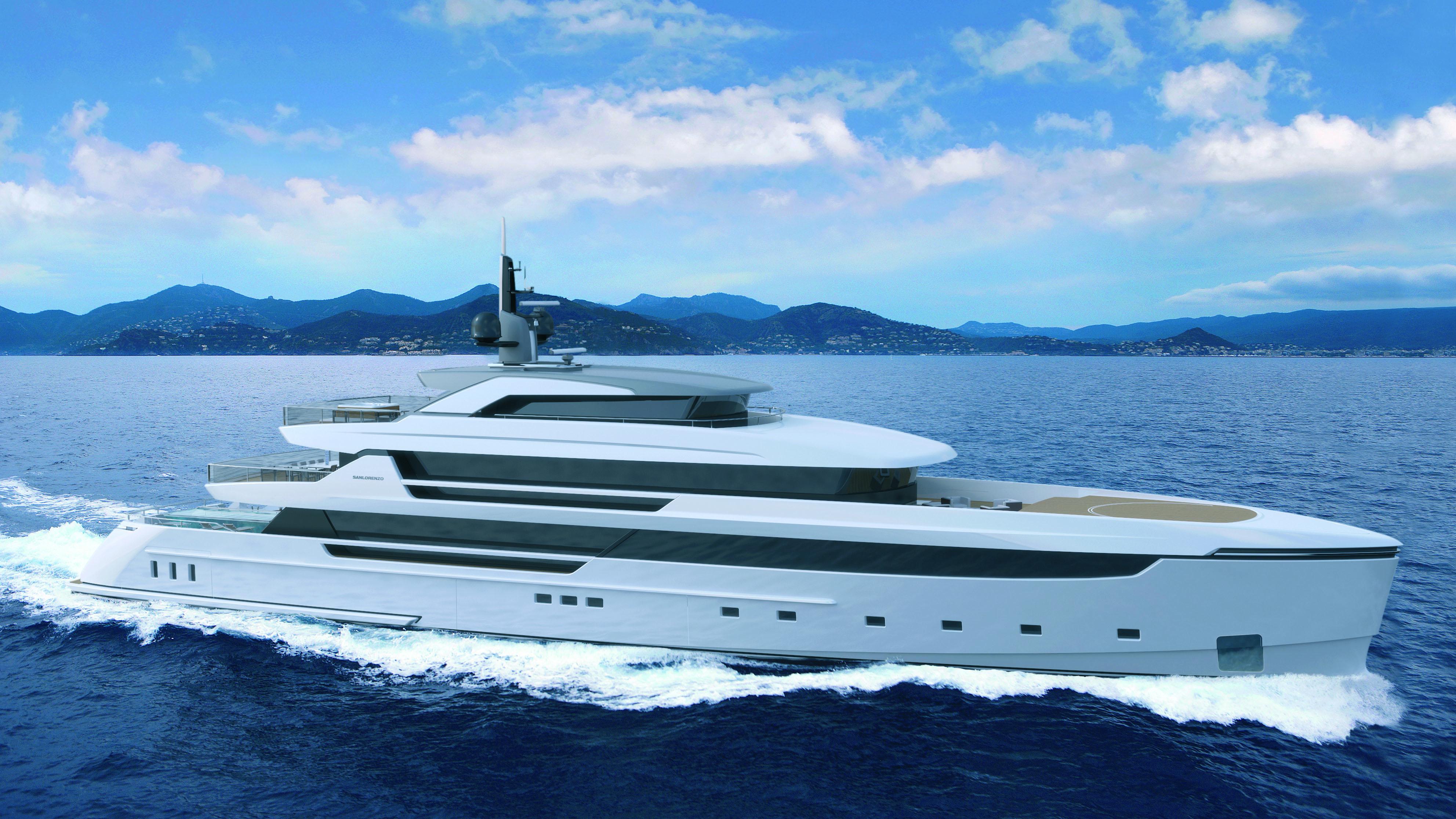 Sanlorenzo 62Steel E Motion hybrid superyacht