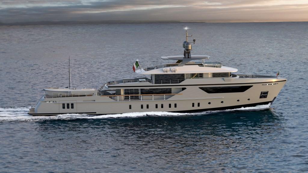 Sanlorenzo E Motion series Sanlorenzo EXP500 Electra hybrid explorer yacht