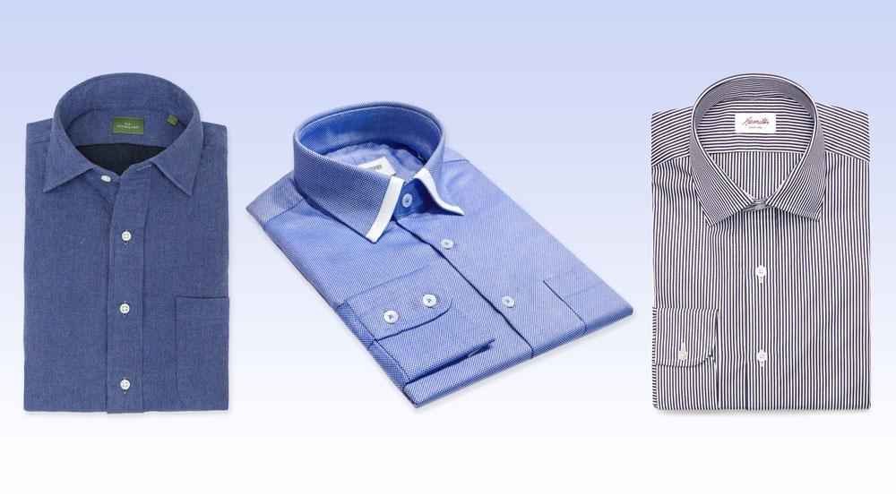 luxury modern button-down shirt