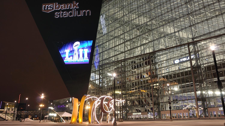 US Bank Stadium, Super Bowl LII