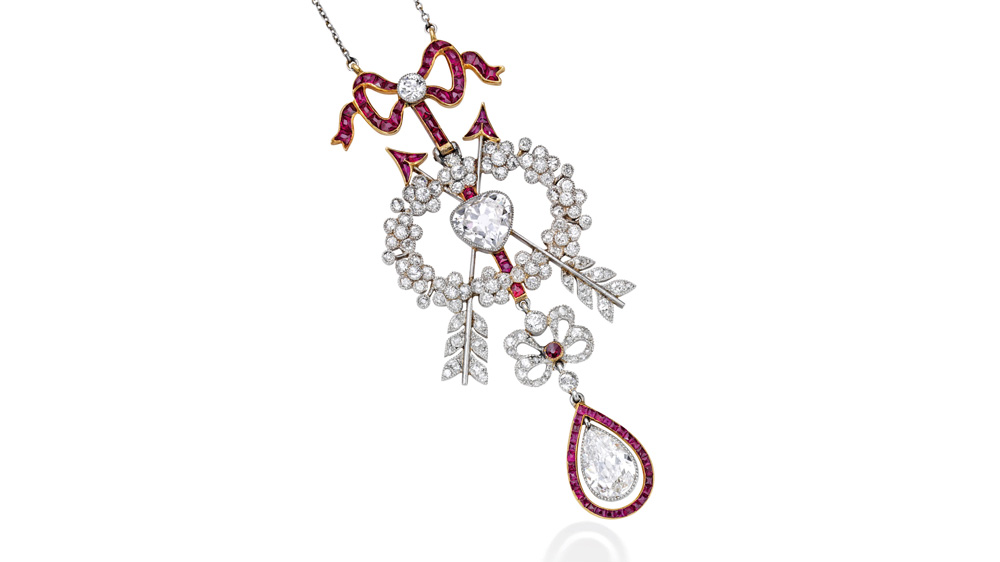 Sotheby's Cartier necklace