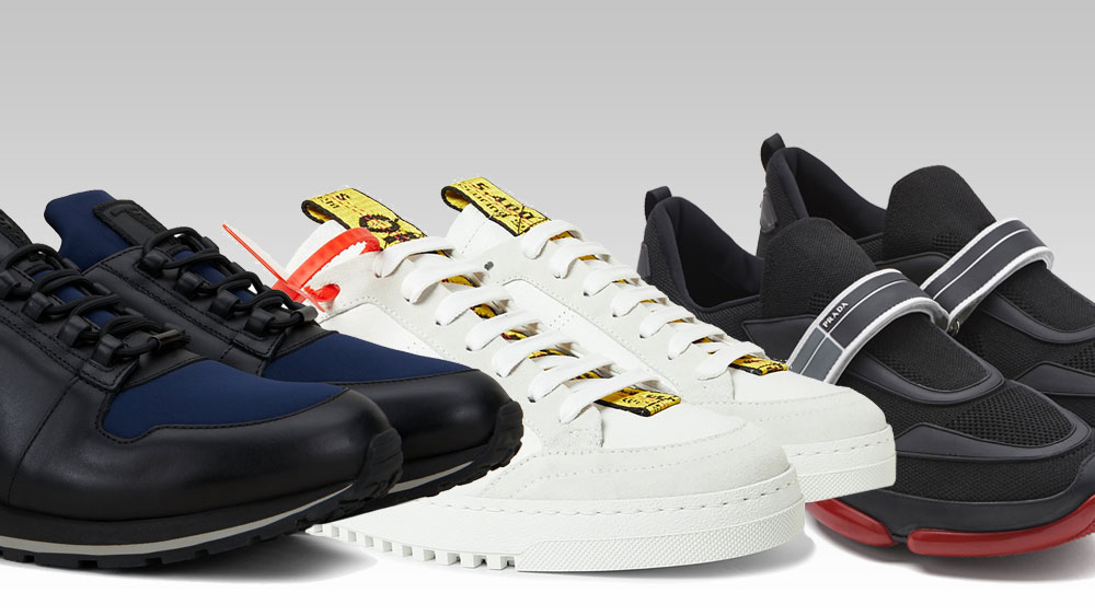 best luxury sneakers 2018