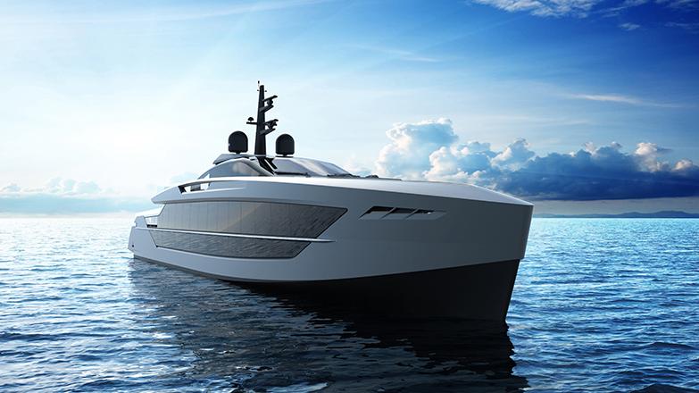 Tankoa Yachts S533 Saetta Planing Superyacht