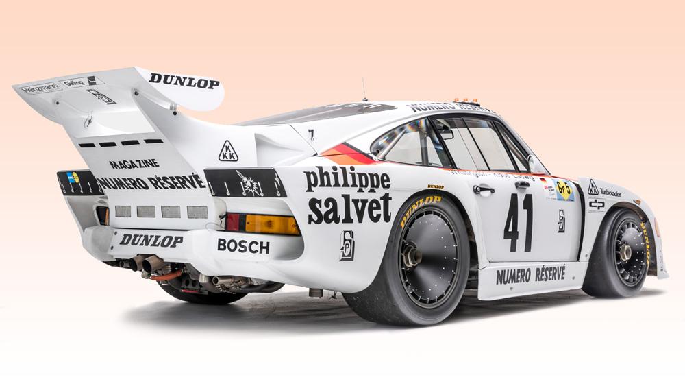 The Le Mans-winning 1979 Porsche 935 K3, chassis No. 009 0015.