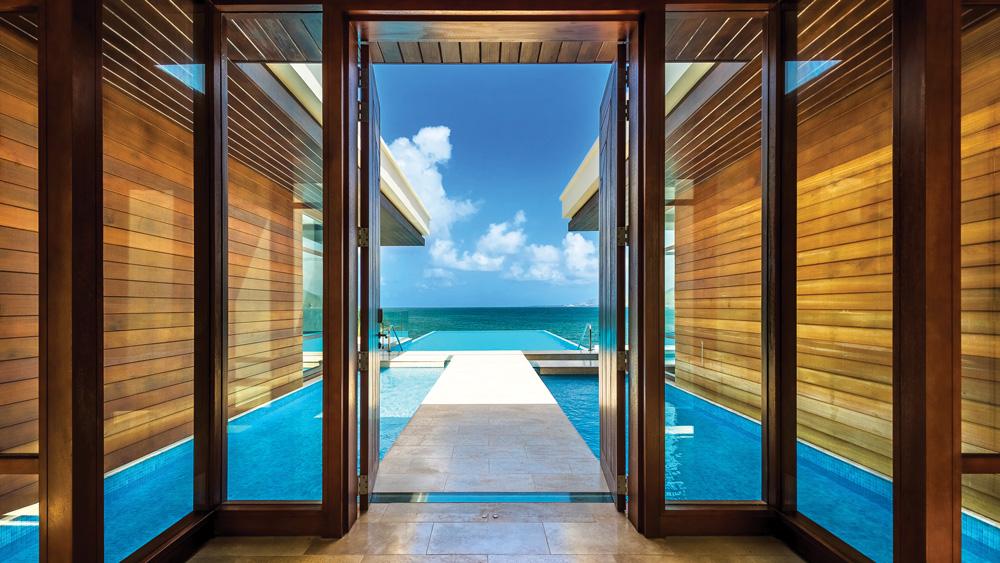 Park Hyatt St. Kitts pool view