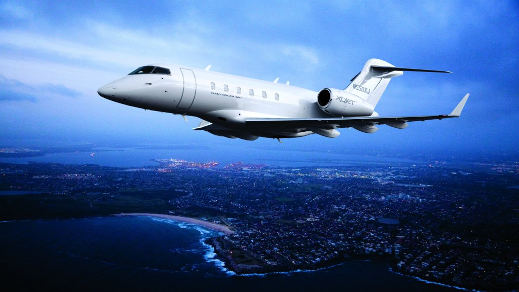 XOJet Bombardier Challenger 300 Super Bowl LII