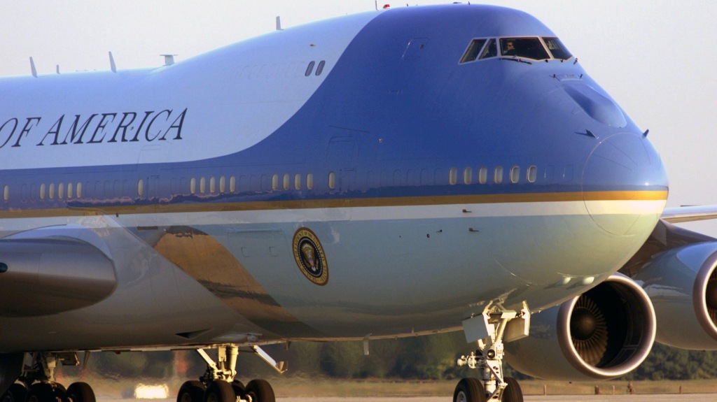 Air Force One Presidents' Day