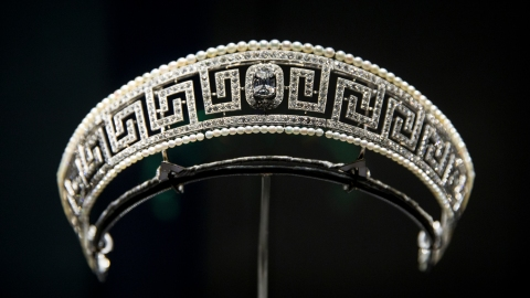 Cartier Tiara Rescued from the Lusitania