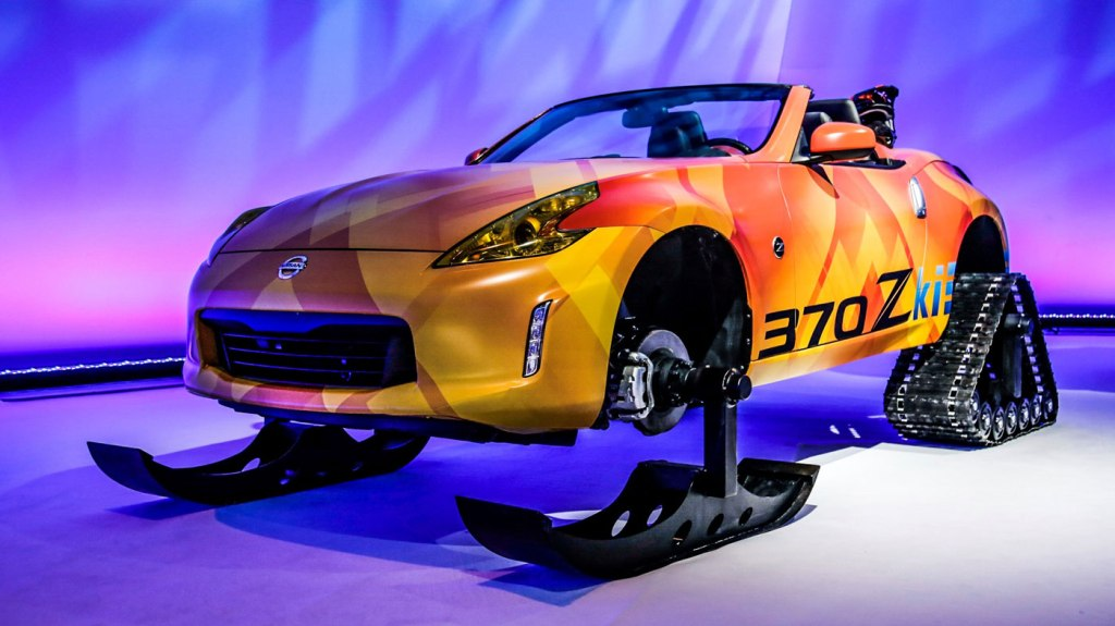 The Nissan 370Zki Concept.