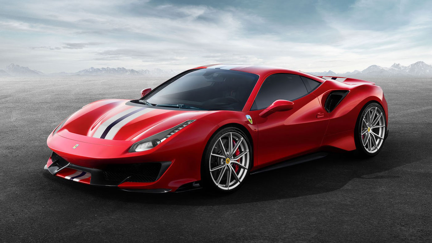 Breaking News Ferrari Reveals New 488 Pista Robb Report