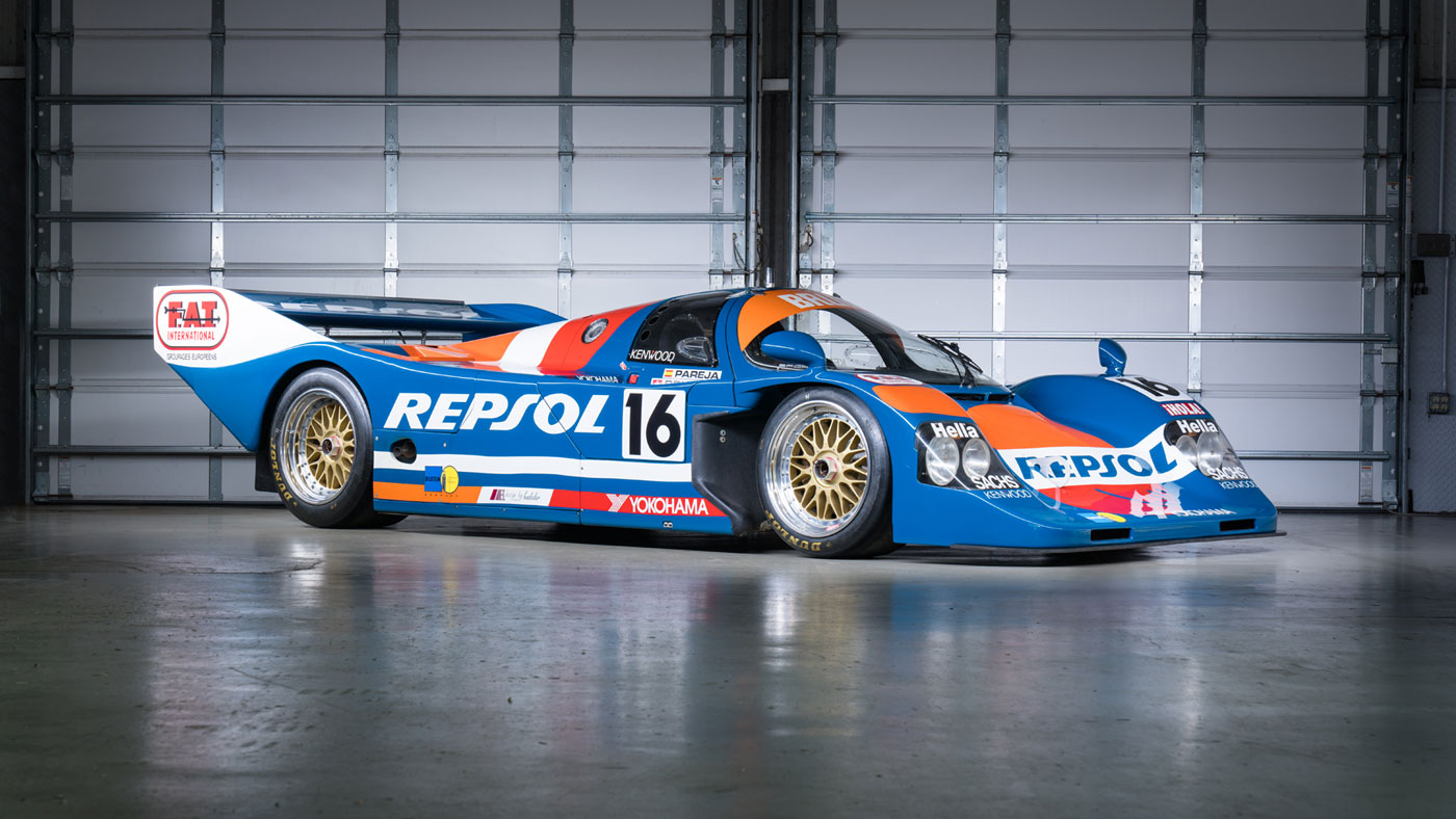 The 1990 Porsche 962C also being offered by Gooding & Company at its 2018 Amelia Island Auction.