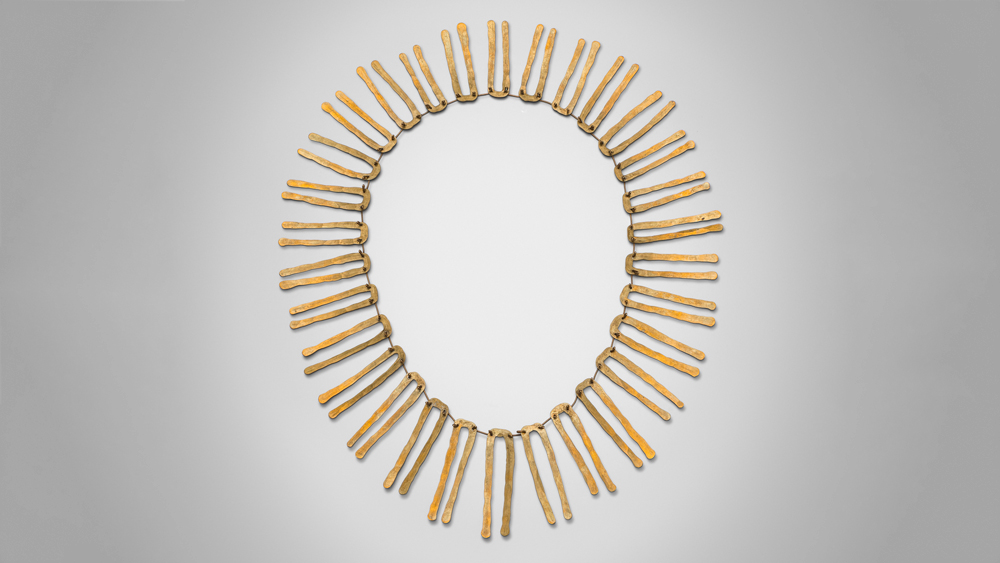 Alexander Calder Brass Necklace