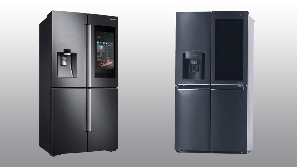 Samsung and LG Refrigerators
