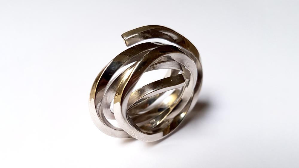 Bernar Venet Indeterminate Line Ring