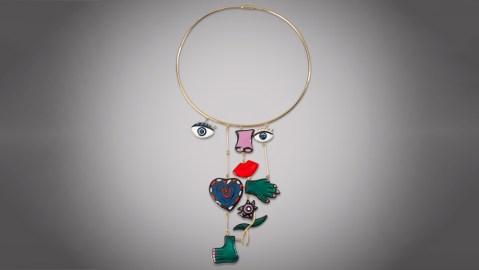 Niki de Saint Phalle Assemblage Necklace