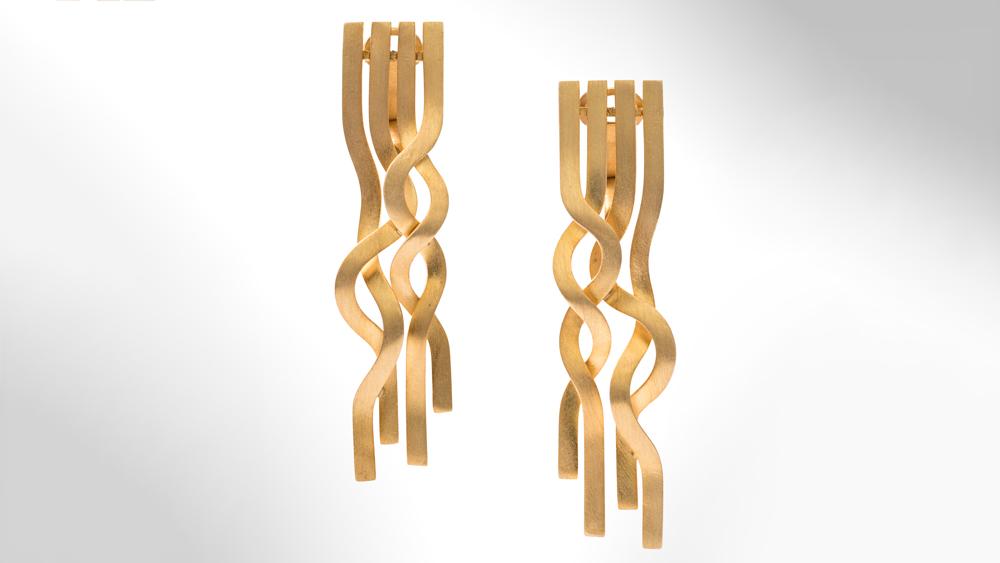 Pablo Reinoso Spaghetti Earrings