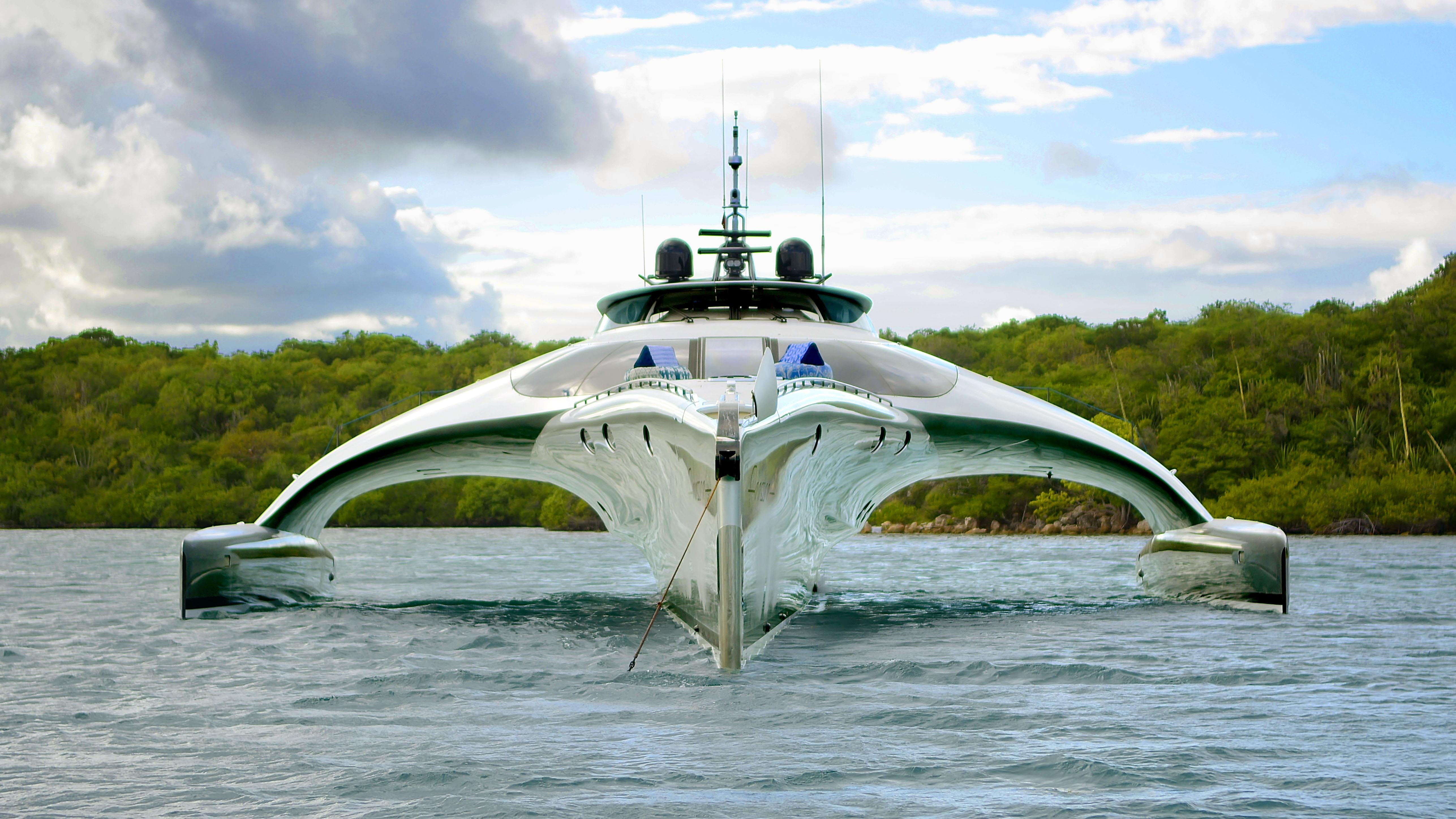 Adastra trimaran McConaghy Boats