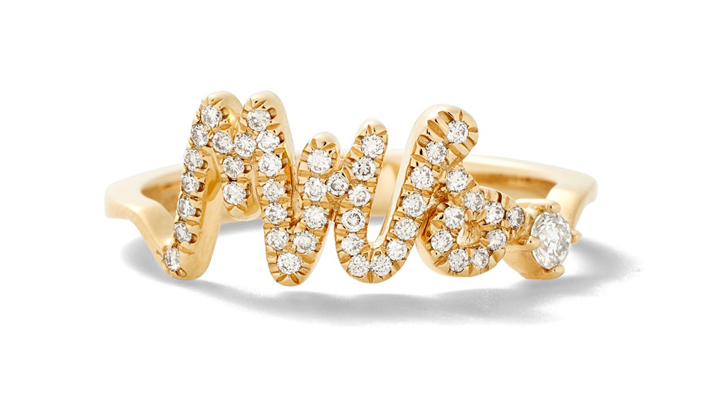 Alison Lou diamond ring