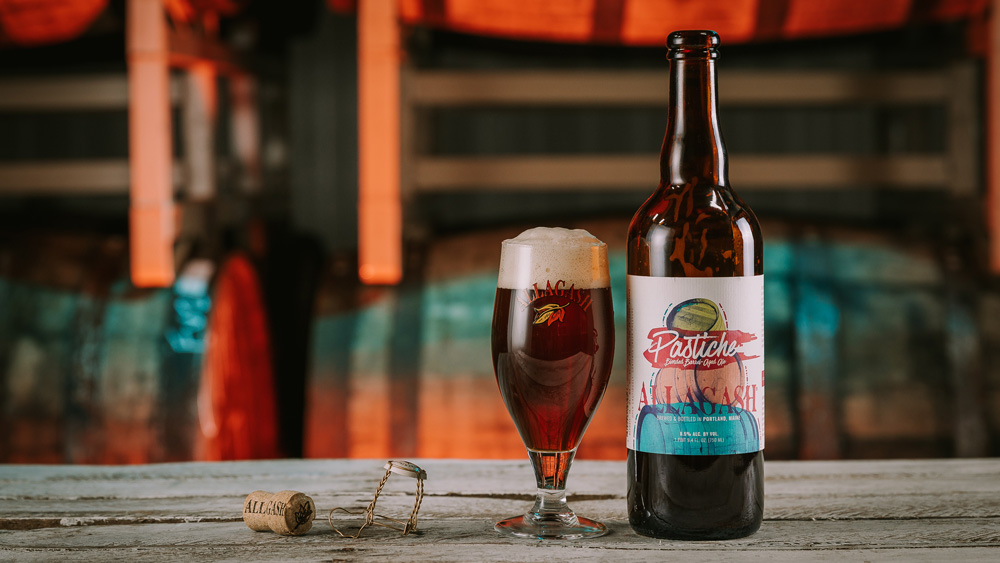 Allagash Pastiche Blended Barrel-Aged Ale