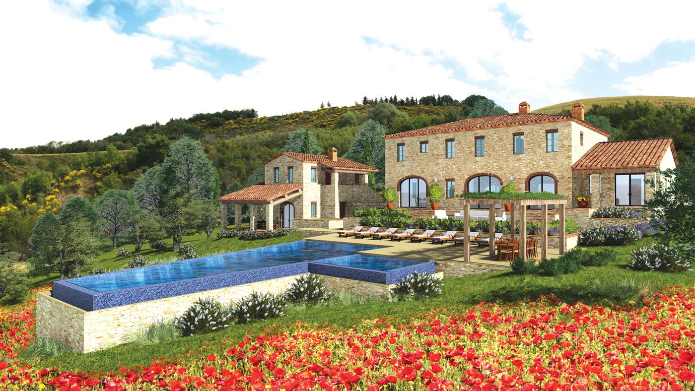 Farm in Tuscany, Italy