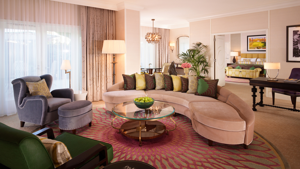 Beverly Hills Hotel suite