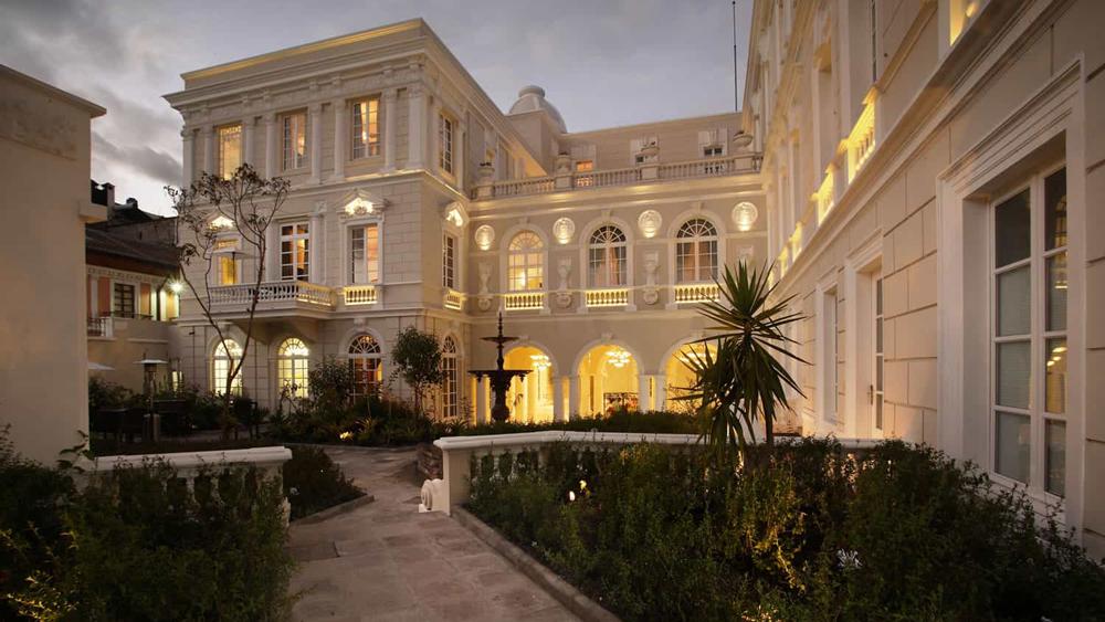 Casa Gangotena exterior