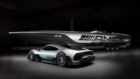 Cigarette Racing-Mercedes AMG 515 Project One raceboat supercar